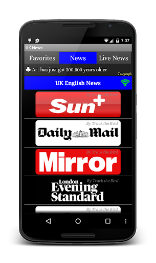 UK News Daily Live Papers
