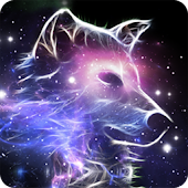 Wolf Galaxy LWP Animated