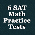 6 SAT Practice Tests (Math) logo