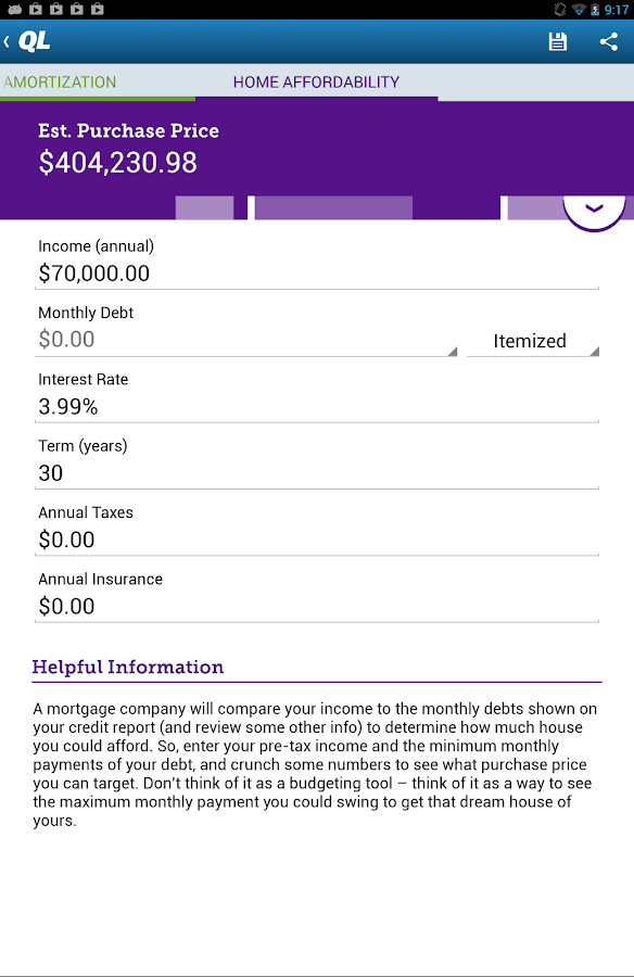 Mortgage Payment Calculator Quicken Loans