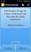 Screenshot of Zitate für Alle pro