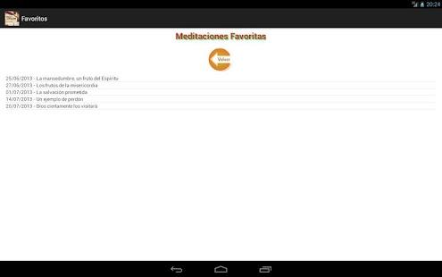 Meditacion Matutina 2013 - screenshot thumbnail