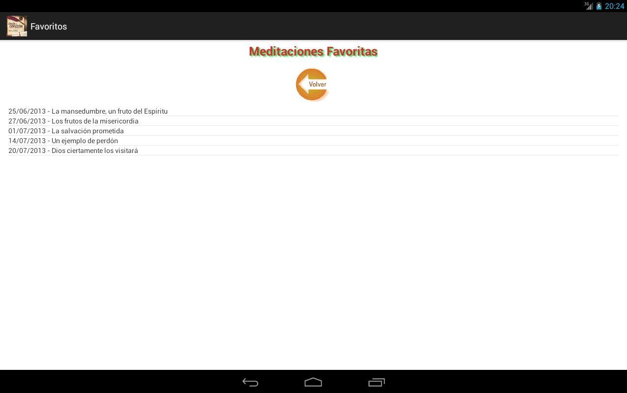 Meditacion Matutina 2013- screenshot