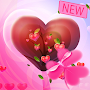 Valentine Heart Launcher Theme APK icon