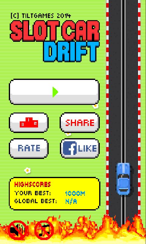 Drifting slot