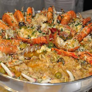 Carol's Seafood Paella.