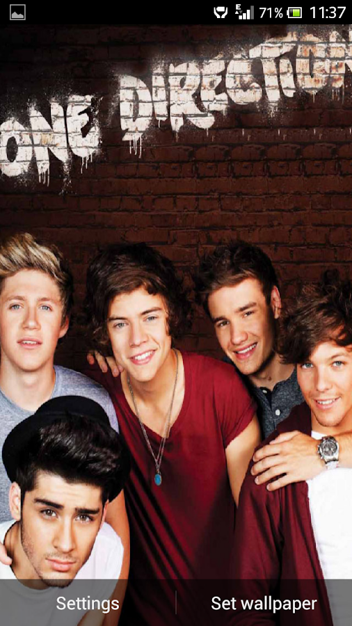 One Direction 2013 LWP - screenshot
