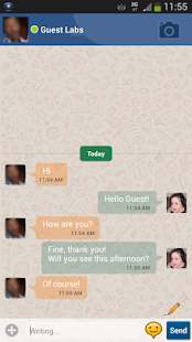 SimpleChat for Facebook (ads) - screenshot thumbnail