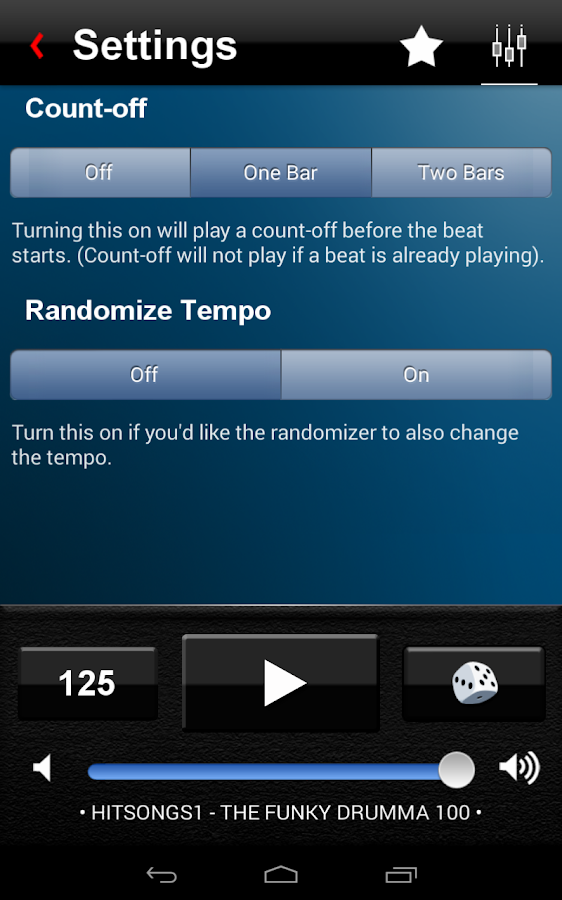 Drum Beats+ Rhythm Metronome- screenshot