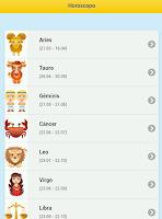 Screenshot of Horóscopo de Hoy