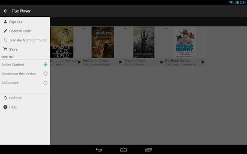 Flux Player - screenshot thumbnail