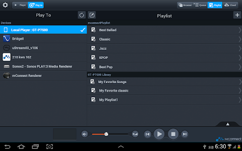 mconnect player HD v1.0.3