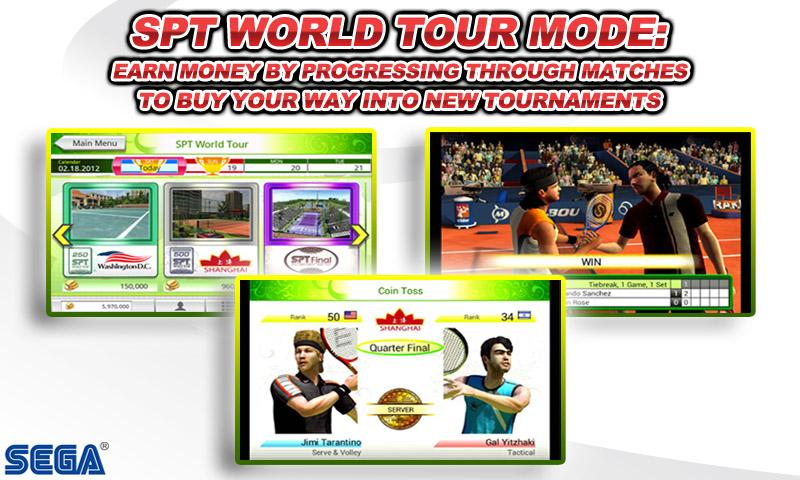 Virtua Tennis™ Challenge screenshot #2