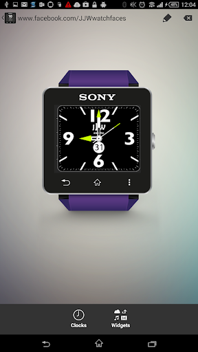 JJW Excite Watchface 1 for SW2