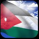 3D Jordan Flag icon