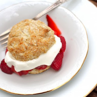 Honey Whole-Wheat Strawberry Shortcakes for Mother's Day