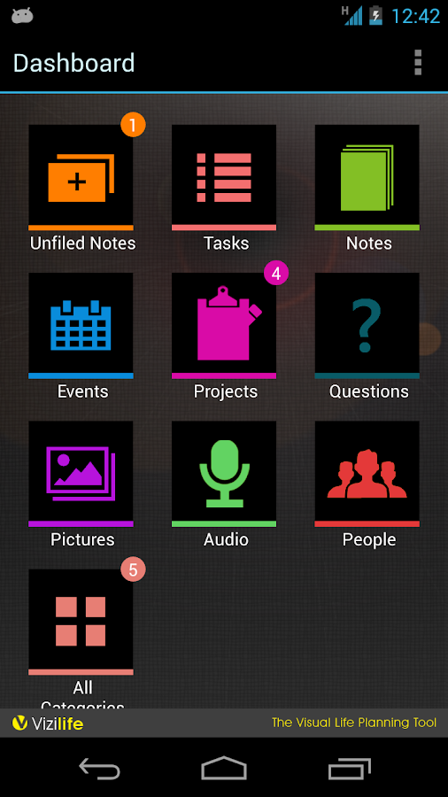 Vizilife – Life Planning App - screenshot