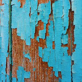 Just Blue by Alexandra Rafaila - Abstract Macro ( , colorful, mood factory, vibrant, happiness, January, moods, emotions, inspiration )