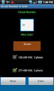 Circuit Number To Color- screenshot thumbnail