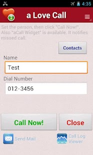 a Love Call - Simple Contacts- screenshot thumbnail