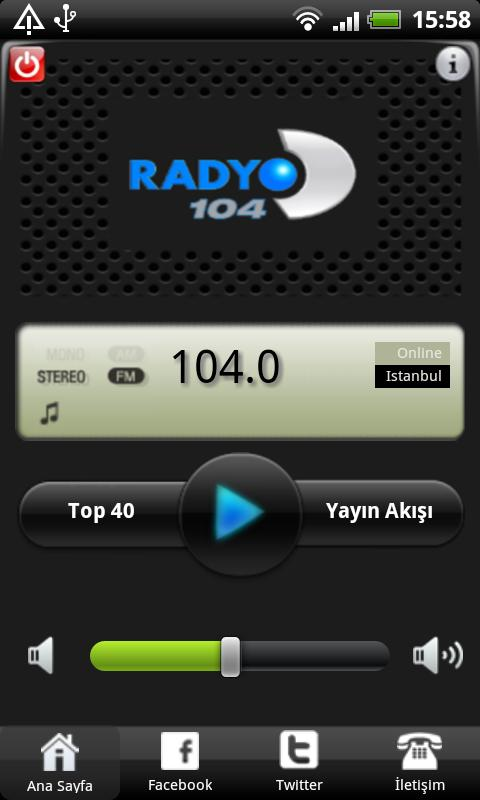 Radyo D- screenshot