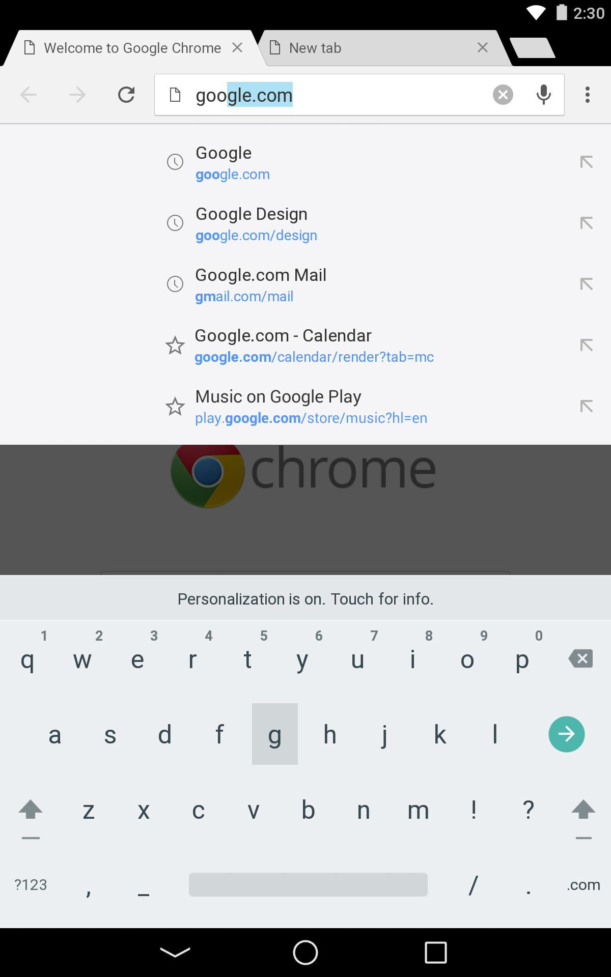 Chrome Browser - Google screenshot #11