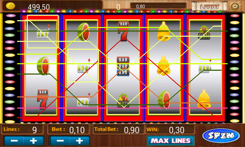 fruit machine android