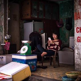 The Old Quarter, Hanoi, Vietnam by Adam Lorrimer-Roberts - City,  Street & Park  Markets & Shops