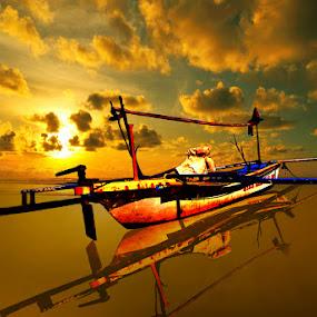 Boat in Bawean Island by Azay Boyan - Transportation Boats