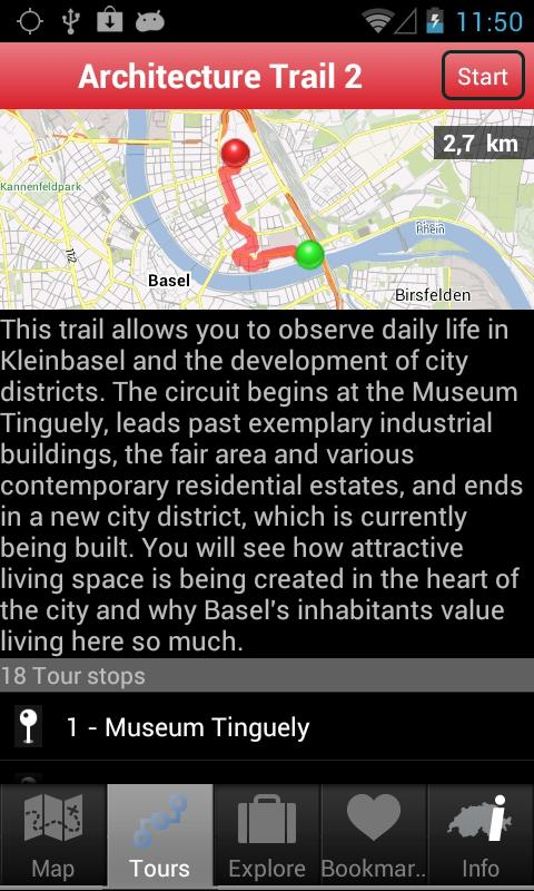 City Guide Basel - screenshot