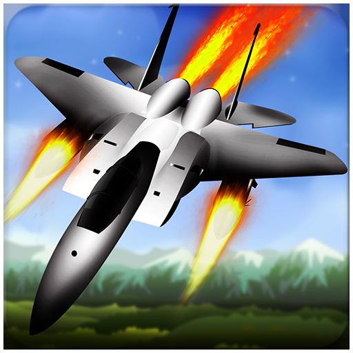 动作のジェット戦闘機 LOGO-記事Game