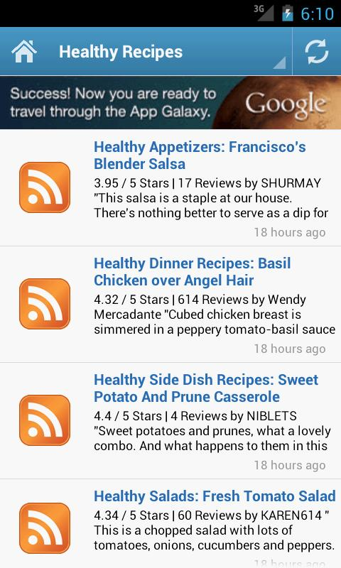 Thanksgiving Recipes - screenshot