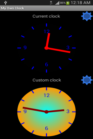 My Own Clock- screenshot