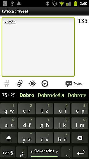 tastiera 3x4 android