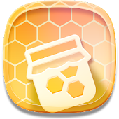 Next Launcher 3D Honey Comb