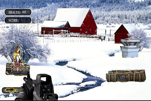 A Commando 3D Sniper Shootout