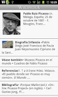 Screenshot of Wikipedia con Movistar (Chile)