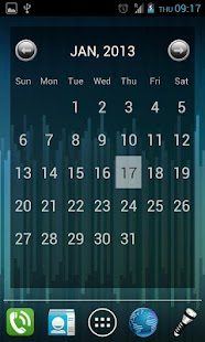 Julls' Calendar Widget Lite- screenshot thumbnail