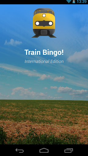 Train Bingo - International