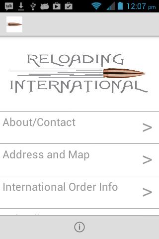 Reloading International