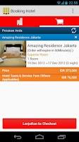 Screenshot of Booking Hotel