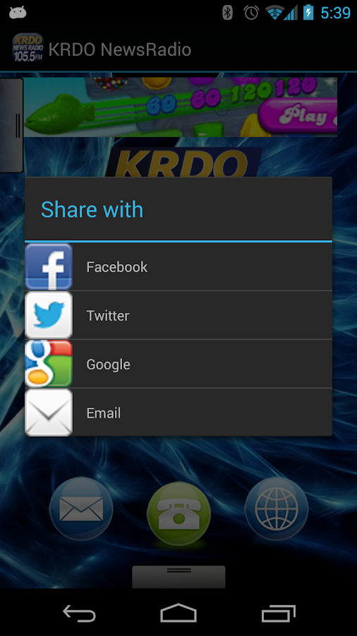KRDO NewsRadio - screenshot