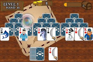 Screenshot of Pirate TriPeaks Solitaire
