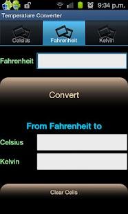 Temperature Converter - screenshot thumbnail