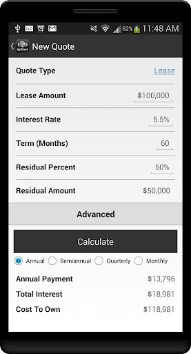 AgDirect Mobile Calculator