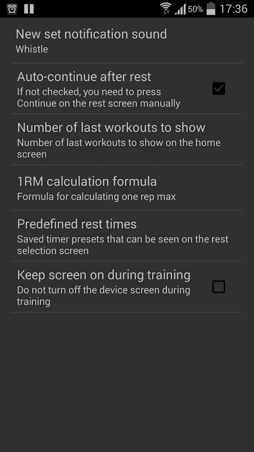 BB Workout Log & Tracker- screenshot