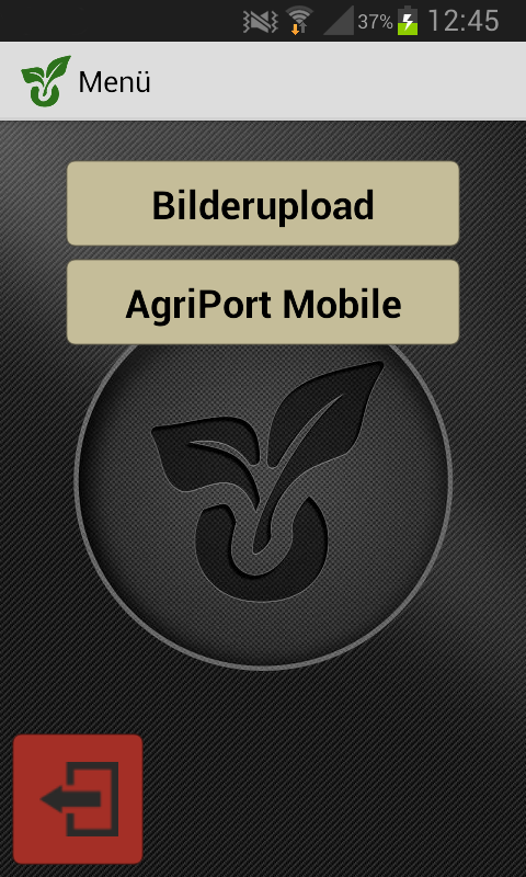 Agriport Mobile – Screenshot