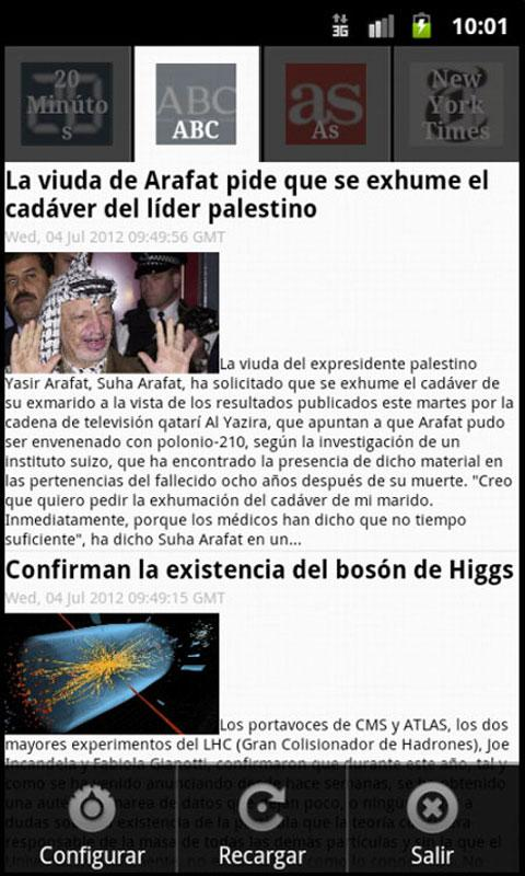 Noticias Frescas - screenshot