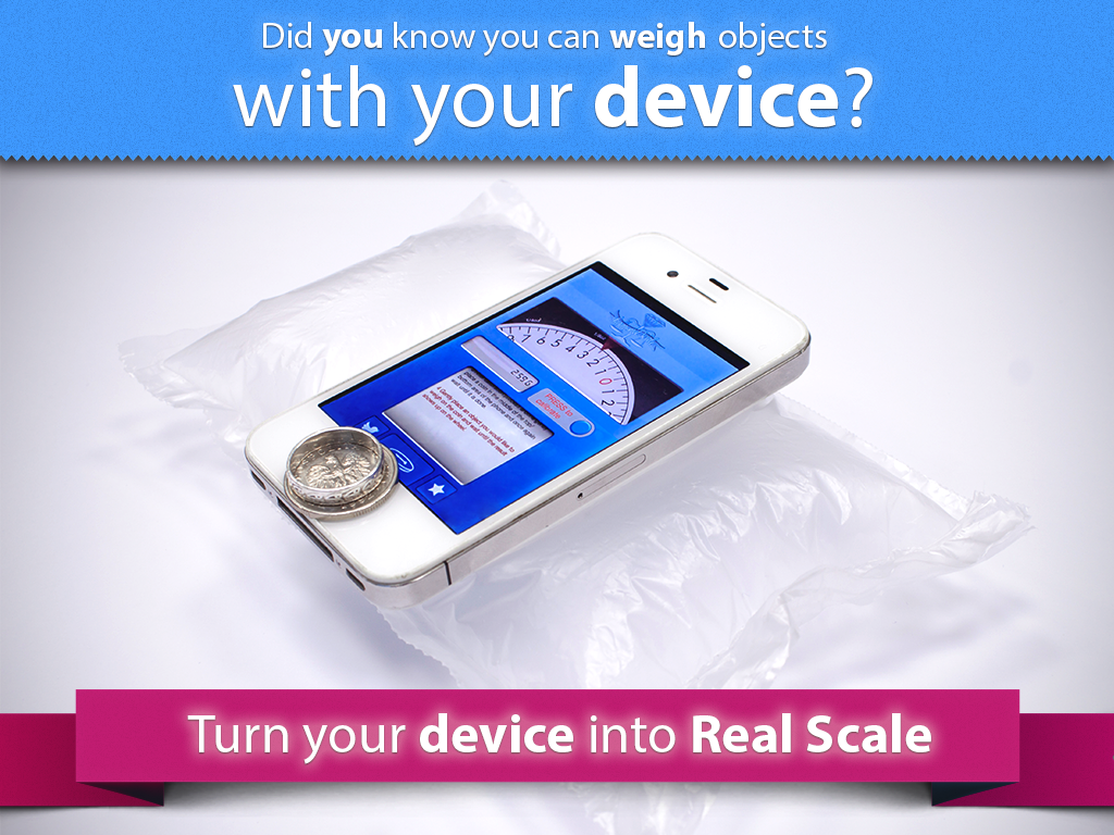 Digital Scale - Real Scale app - screenshot