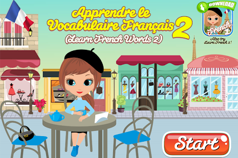 Learn French Words 2- screenshot thumbnail